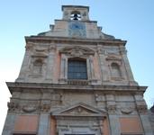 La facciata dell'Annunziata