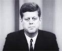 Il Presidente John Fitzgerald Kennedy