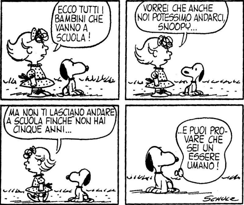 La Nascita Di Sally Brown Sorella Di Charlie Brown