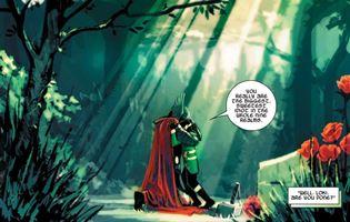 L'addio di Loki a Thor