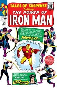 'Hawkeye, the Marksman' (Tales of Suspense #57)