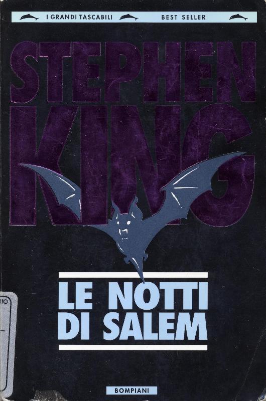 STEPHEN KING: LE NOTTI DI SALEM
