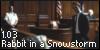 Rabbit in a Snowstorm